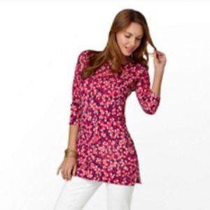 Lilly Pulitzer Anna Tunic Sweater Merino Wool